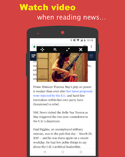 Music Tube, Free and Floating Window for Youtube 1.5.0 screenshots 2