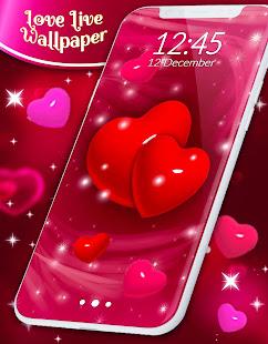 Love Live Wallpaper Hearts 4k Wallpaper Free Apps On Google Play