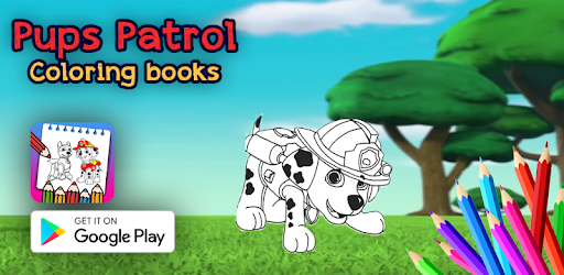pups patrol coloring book is an educational and fun  game designed for kids .