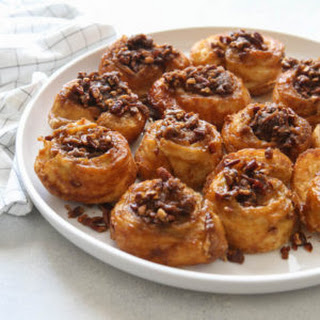Easy Puff Pastry Sticky Buns.
