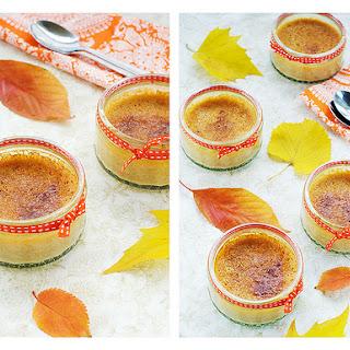 Crustless Mini Pumpkin pies/ Crème de Pumpkin
