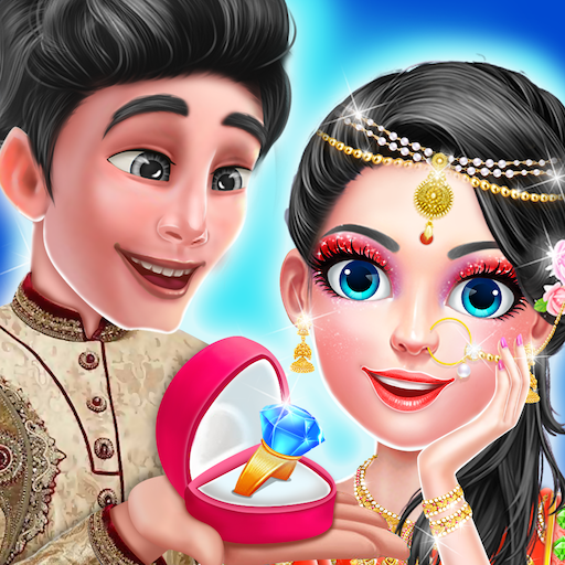 Indian Traditional Engagement Ring Ceremony - FREE Icon