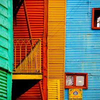 Strisce e colori di La Boca di