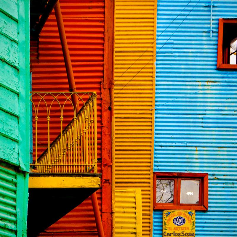 Strisce e colori di La Boca di mariateresatoledo