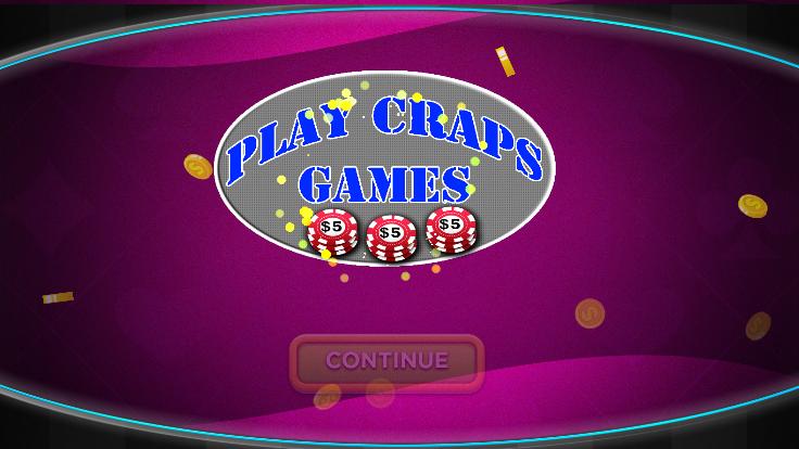 free craps app