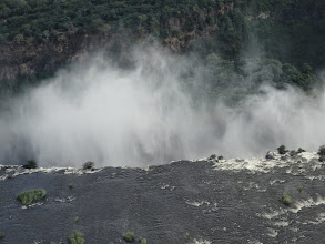 Photo: The lip of the falls