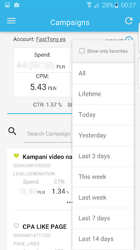 Ads Manager for Facebook 1.0.7 screenshots 5