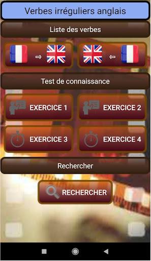 Verbes Irreguliers Anglais Download Apk Free For Android Apktume Com