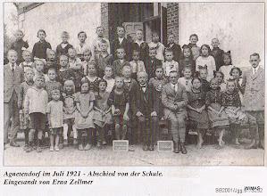 Photo: Agnetendorf, Schulklasse 1921