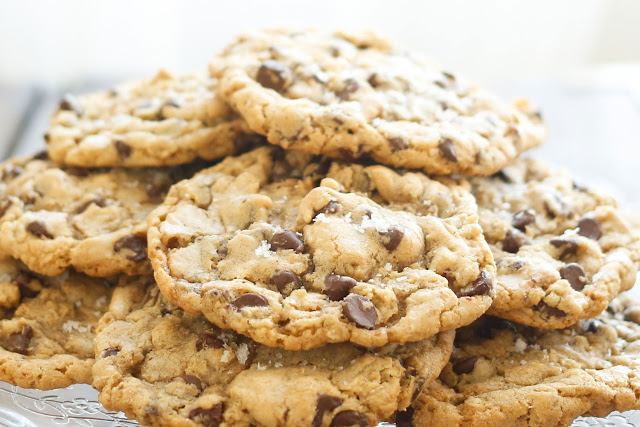 The Ultimate Salted Chocolate Chip Cookies Recipe