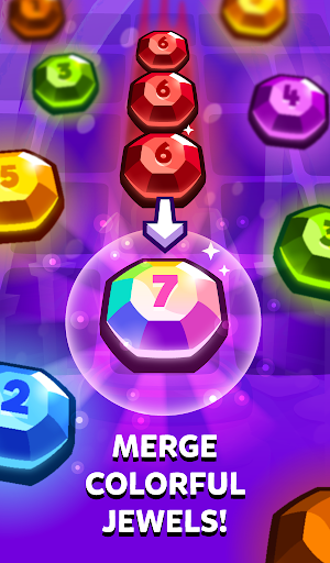 Bubbu Jewels - Merge Puzzle  screenshots 23