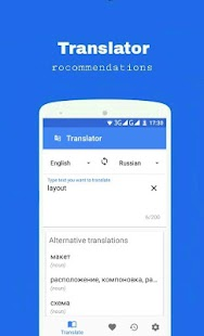 Translator - translate words - náhled
