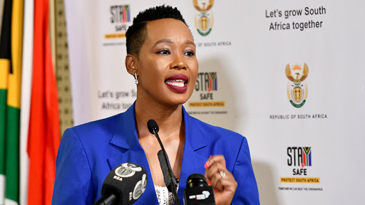Communications and digital technologies minister Stella Ndabeni-Abrahams. (Photo source: GCIS)