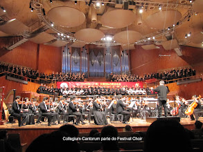 Photo: Festival Choir no 1. Xinghai Prize International Choir Championships em Guangzhou, CHINA