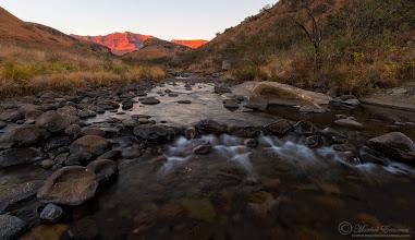 """Photo: """"Bushman's River Sunrise"""" - Giant's Castle, Drakensberg, South Africa"""