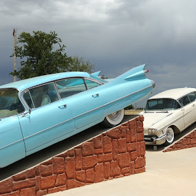 Cadillac Ranch by Sherry Dennis - Transportation Automobiles