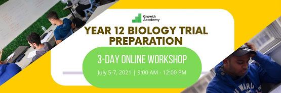Year 12 Biology Trial Preparation Workshop (4 day online workshop)