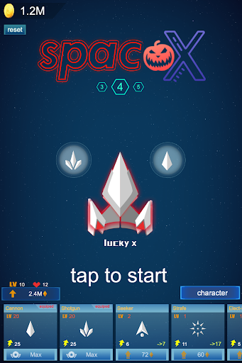 Galaxy Polygon:Shooter - Alien Attack&Space Shoot screenshot 1