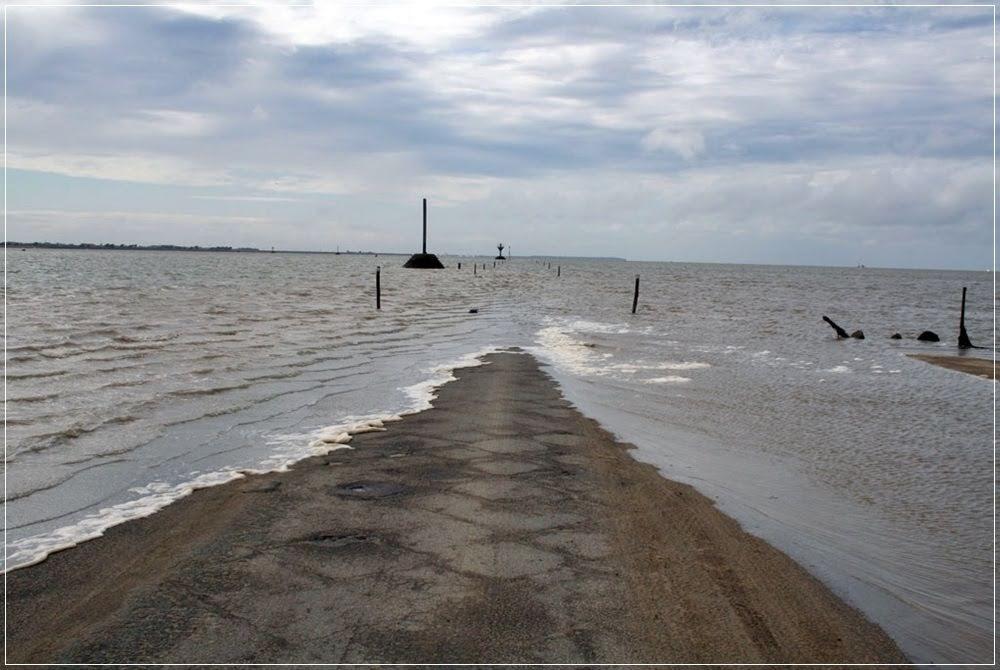 Passage du Gois, a estrada das marés
