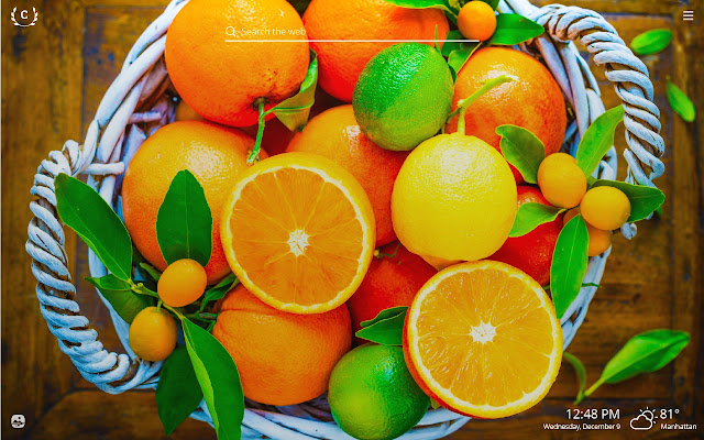 Citrus HD Wallpapers New Tab Theme