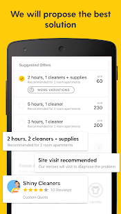 ServisHero: On demand services- screenshot thumbnail