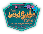 Logo for The Secret Garden Cafe at Tlaquepaque