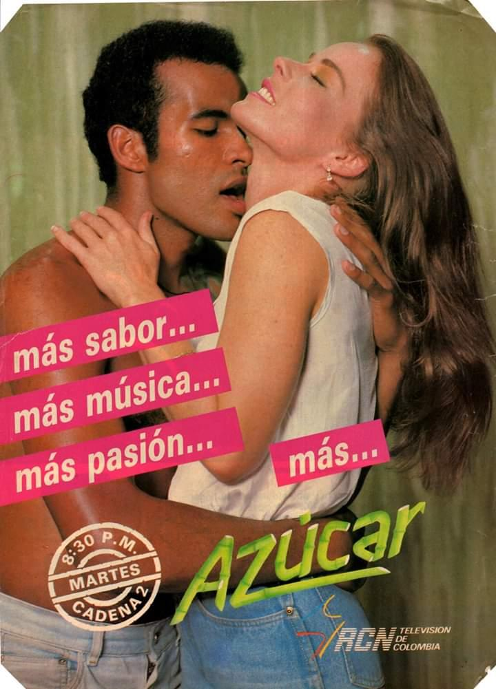 """MAURICIO VARELA ©️Ⓜ️ on Twitter: """"Uno de los hitos de la tv colombiana  AZÚCAR. @OscarBorda y Erika Shutlz, protagonizaron la segunda generación de  la saga que contaba la vida de los Soláz"""