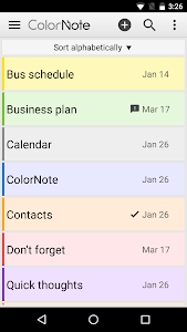 ColorNote Notepad Notes v3.11.1