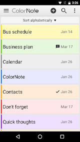 ColorNote Notepad Notes Apk Download Free for PC, smart TV