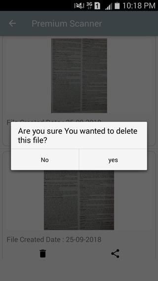 Premium Scanner: PDF Doc Scan Screenshot 6