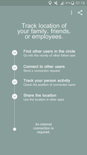 Follow - Echtzeit Ortungs App via GPS/Netzwerk: miniatura de captura de pantalla