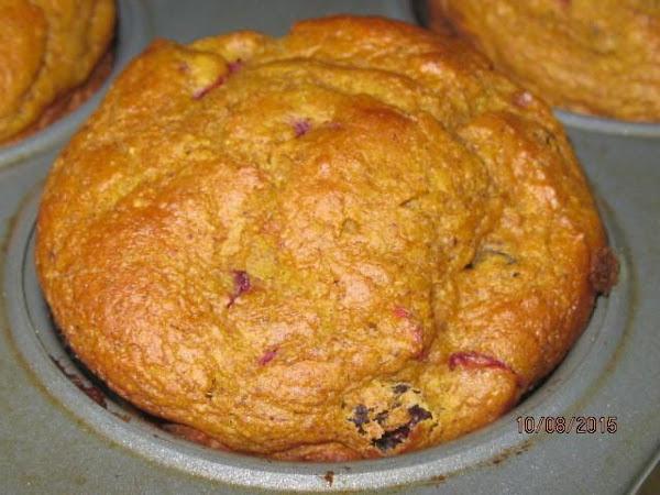 Pumpkin Cran-raisin Muffins Recipe