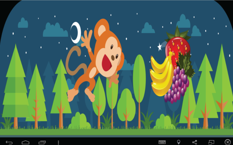Monkey Blast Forever- screenshot
