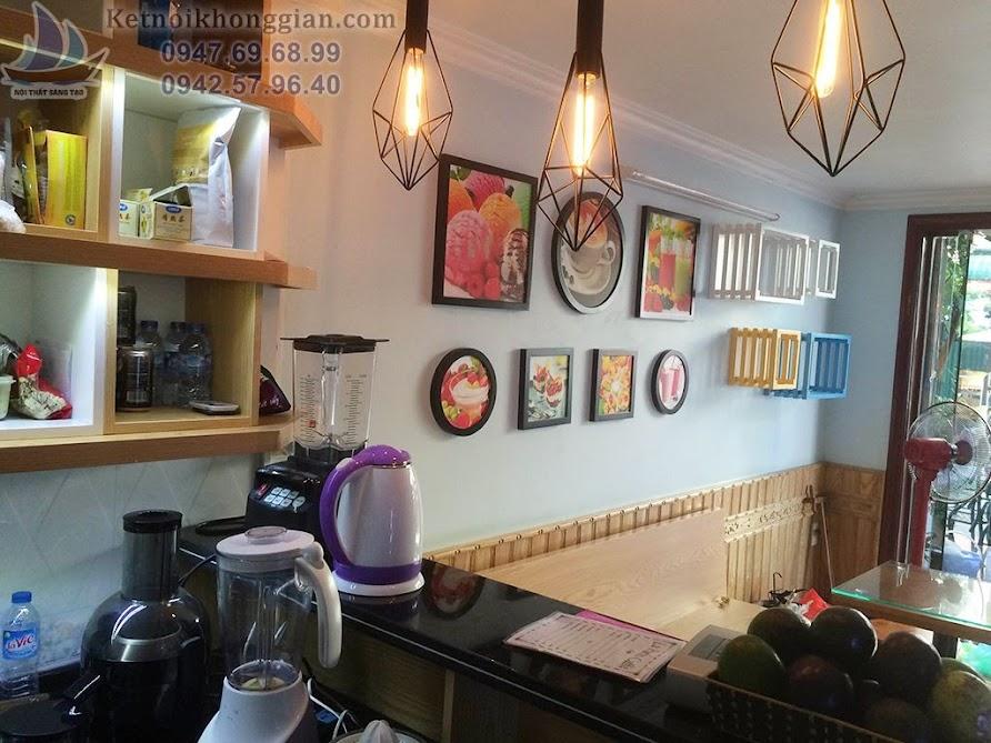 thi công quán cafe sáng tạo