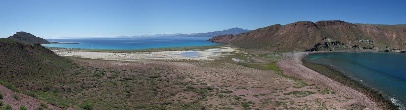 Photo: Island pan looking over Puerto Los Gatos