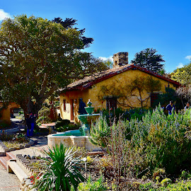 by Victoria Eversole - Buildings & Architecture Public & Historical ( gardens, carmel by the ~sea, california adventures, carmel mission )