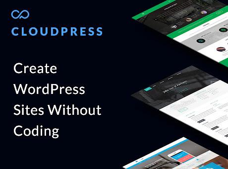 CloudPress - WordPress Site Designer