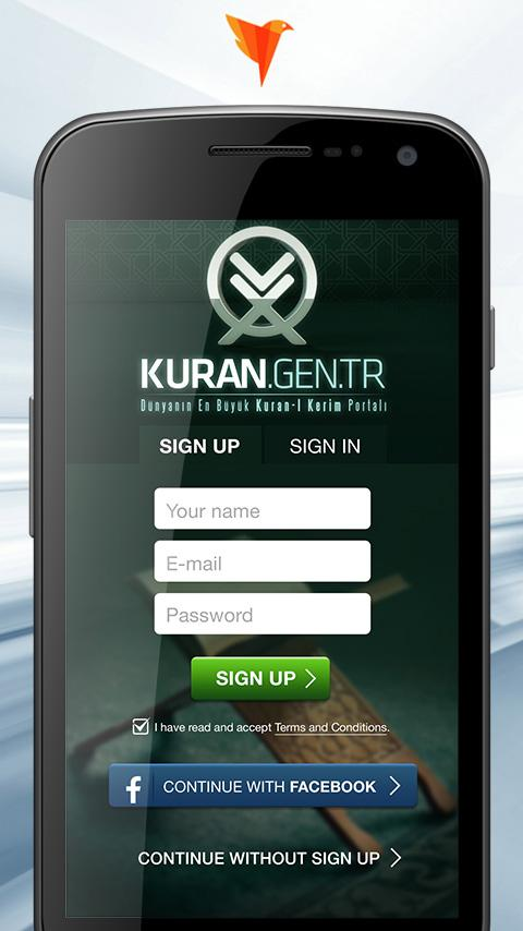 Kuran.gen.tr- screenshot