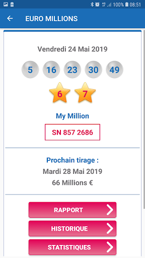 Ru00e9sultat Loto France 1.6 screenshots 3