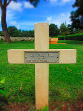 Photo: French Soldier at Trincomalee War Cemetery.