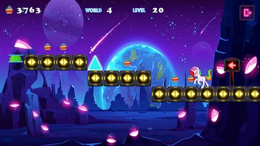 Unicorn Dash Neon Lights: Unicorn Games screenshots 4