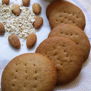 Arrowroot, Oats Badam Cookies Recipe
