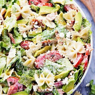 BLT Avocado Pasta Salad