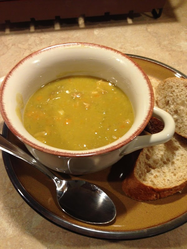 Split Pea & Ham Soup Recipe
