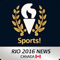 Rio 2016 News CANADAunofficial icon