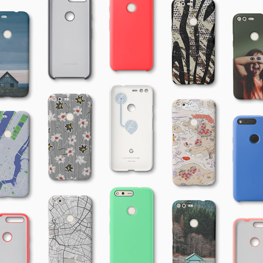 Collection of Pixel Live Cases