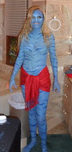 Photo: Amazing Avatar model Body Paint Halloween Party by Paola from http://www.BestPartyPlanner.net
