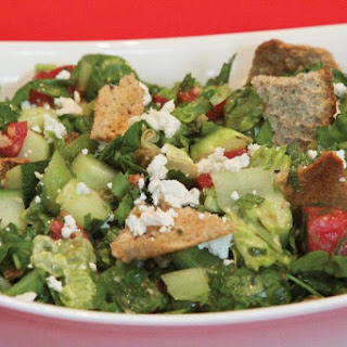 Sweet and Tangy Fattoush Salad