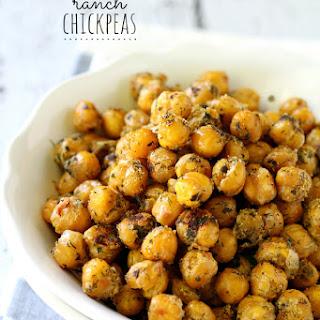 Crispy Crunchy Ranch Chickpeas