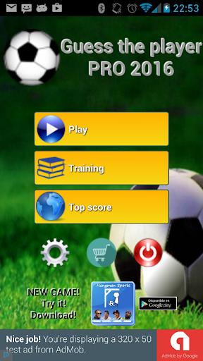 Soccer Players Quiz 2016 PRO